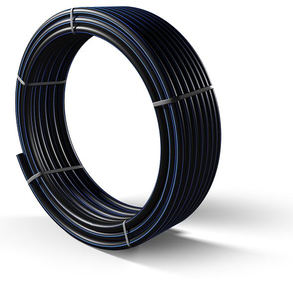 Труба полиэтиленовая для подачи воды ПЕ 100 Ø 63мм 10 атм SDR 17 - 1