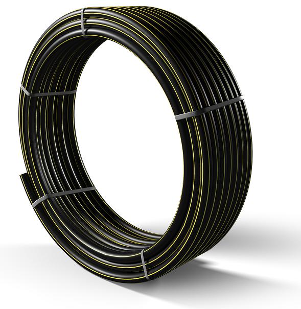 Труба полиэтиленовая для подачи газа ПЕ 80 Ø 63мм 0,3МПа SDR 17,6 - 1