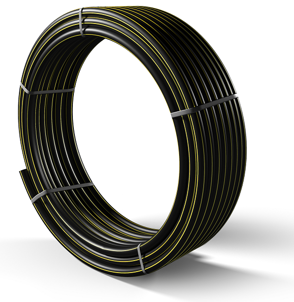 Труба полиэтиленовая для подачи газа ПЕ 80 Ø 90мм 0,3МПа SDR 17,6 - 1