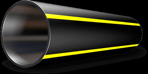 Труба полиэтиленовая для подачи газа ПЕ 80 Ø 355мм 0,3МПа SDR 17,6 - 1