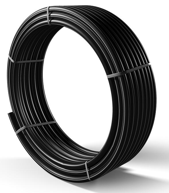 Труба поліетиленова для подачі газу ПЕ 80 Ø 90мм 0,6 МПа SDR 11 - 1