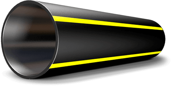 Труба полиэтиленовая для подачи газа ПЕ 80 Ø 140мм 0,6МПа SDR 11 - 1