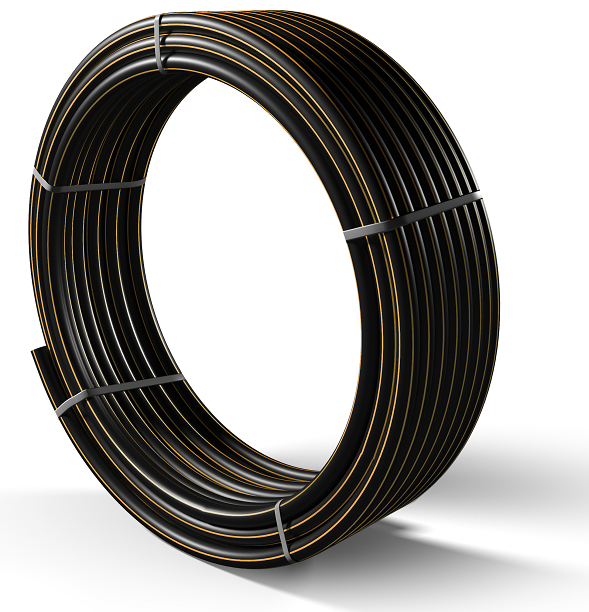 Труба полиэтиленовая для подачи газа ПЕ 100 Ø 225мм 0,6МПа SDR 11 - 1