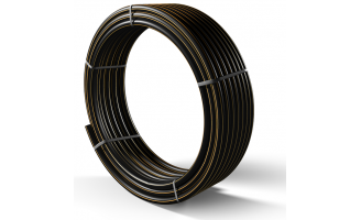 Труба полиэтиленовая для подачи газа ПЕ 100 Ø 25мм 0,6МПа SDR 11