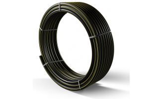 Труба полиэтиленовая для подачи газа ПЕ 80 Ø 90мм 0,3МПа SDR 17,6
