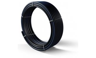 Труба полиэтиленовая для подачи воды ПЕ 100 Ø 63мм 12,5 атм SDR 13,6