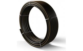 Труба полиэтиленовая для подачи газа ПЕ 100 Ø 75мм 0,6МПа SDR 11