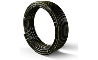 Труба полиэтиленовая для подачи газа ПЕ 80 Ø 63мм 0,3МПа SDR 17,6